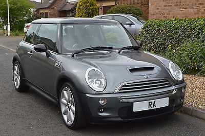 2002 [52] Mini Cooper S- 1.6 Petrol Manual Immaculate Grey Bodywork