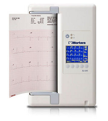 NEW Burdick/Mortara ELI 230 ECG/EKG Interpretive 12-Lead (AM12) #BUR230-A