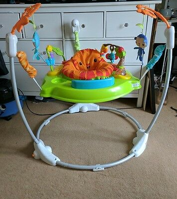 fisher price jumperoo bouncer activity centre