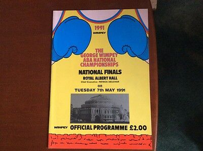 george wimpey 1991 ABA championships