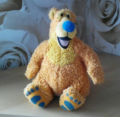 """Bear in big blue house soft toy collectable Mattel 8"""" cute"""