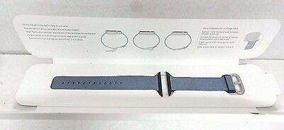 Apple - Woven Nylon for Apple Watch 42mm  MP232AM/A - Navy/Tahoe Blue