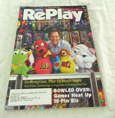 July 2009 Replay Magazine,for The Amusement Route, Arcade & Fec Owner