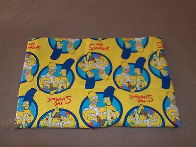 The Simpsons Travel Pillow Case