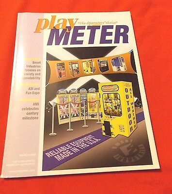 Play Meter Magazine,march 2009. Smart Industries, Spring Shows, Ami 100Th Anniv
