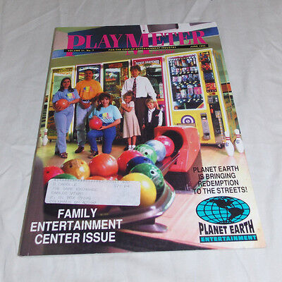 Play Meter Magazine, June 1995. Family Entertainment Center Issue