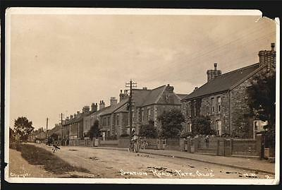 Bristol Yate Station Road   Real Photo Postcard  1910
