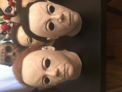 Michael Myers H20 and H30 Resurection masks