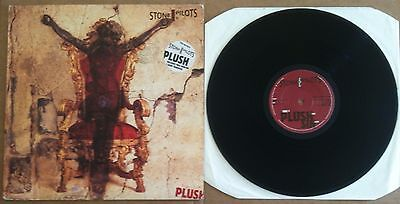 "Stone Temple Pilots ‎– Plush Atlantic ‎A7349T UK 1993 4 TRACK 12"" IN PIC SLEEVE"