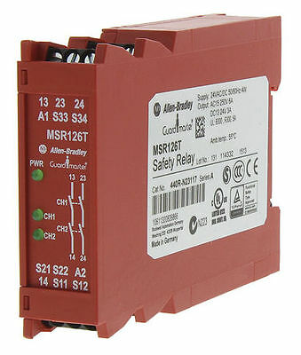 Minotaur MSR126T Safety Relay, Single Channel, 24 V ac/dc