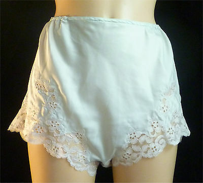 """Vintage satin french knickers. 28"""" waist"""