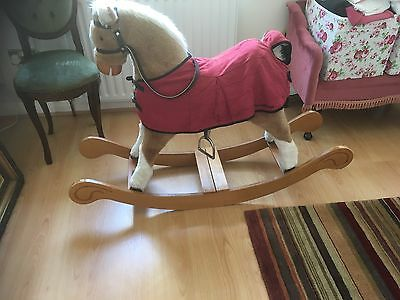 Mamas And Papas Rocking Horse With Cover!!