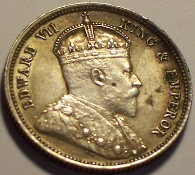 British East Africa and Uganda Protectorate, 1906 Edward VII Fifty Cents 50 Cent
