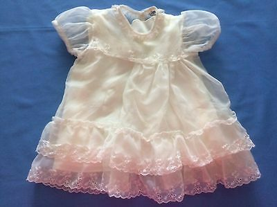 Vintage Carol Joy Infant Dress - Christening or Baby Doll