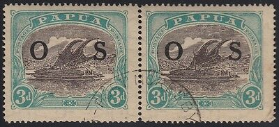 "Papua 3d Ash Bicolour OS opt Lakatoi pair #1-2 including ""Rift"", used"