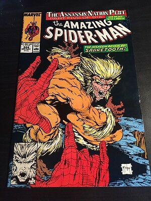 Amazing Spider-Man#324 Incredible Condition 8.5(1989) McFarlane Cover, Cool!!