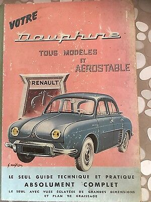 Guide technique Renault Dauphine