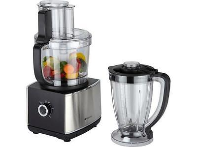 Hotpoint Multifunctional Food Processor 1000w 2.6L Stainless Steel