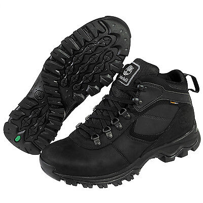 Mens Timberland Mt Maddsen Waterproof Hiking Boots Work Boots Black NEW