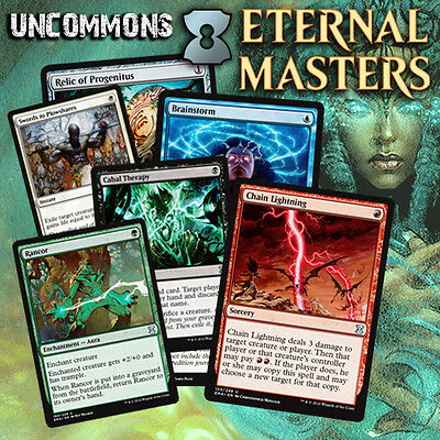 Choose Your Eternal Masters Uncommon Cards - MTG M/NM EMA