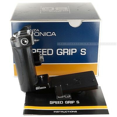 Boxed Zenza Bronica Speed Grip S for SQ-Ai SQ-A SQ-B Hand Winder & Flash Holder