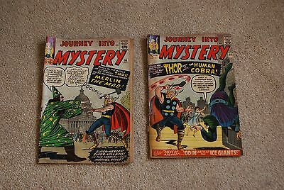 MARVEL Journey into Mystery x2 MIGHTY THOR used