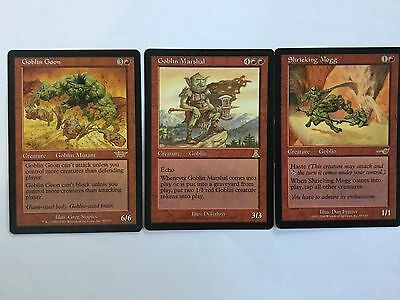 Magic The Gathering - Goblin Lot -100 Red Cards - MTG