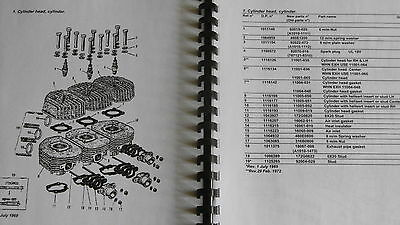 KAWASAKI H1 H1A parts catalogue 500