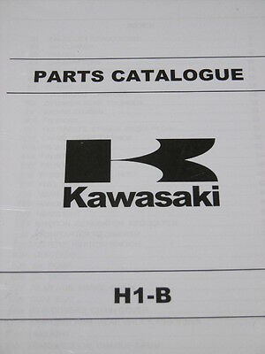 KAWASAKI H1 B parts catalogue 1975 500