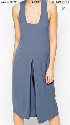 Blue ASOS Maternity Jumpsuit, size 10 maternity