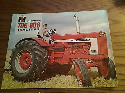 Ih International 706And 806 Tractors Brochure
