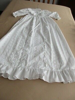 Vintage Babies White Christening Dress