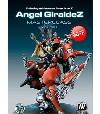 Infinity Painting Miniatures Angel Giraldez Master Class Vol 1 English