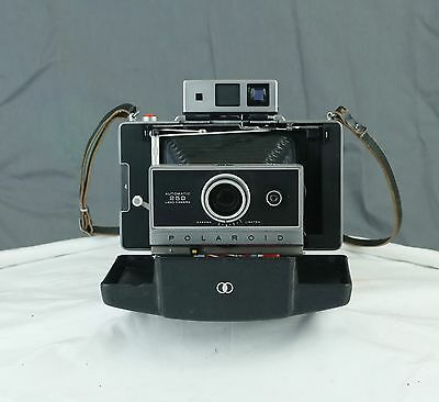 Polaroid 250 Land Camera With Zeiss Ikon finder, Flash And Portrait Kit And more