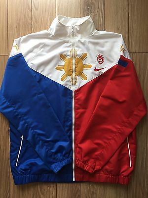 Manny Pacquiao Nike Track Jacket-Team Pacquiao Size XL Boxing - Small Flaws