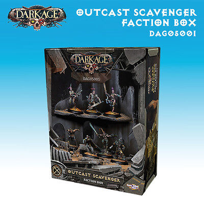 Dark Age Outcast Faction Starter box miniature 32mm new