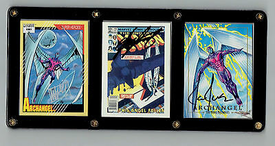 Archangel Cards Signed By Joe Jusko Chris Claremont Mike Manley