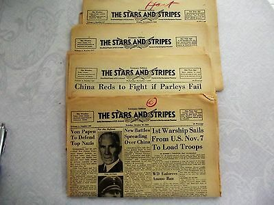 The Stars and Stripes Germany Edition 1945 8 Issues
