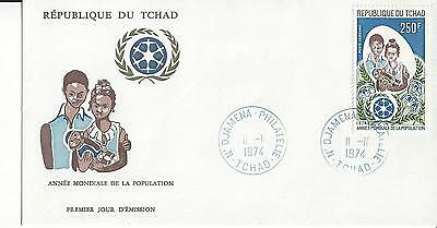 Chad C160 United Nations Population Year   FDC