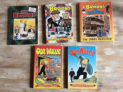 Four Oor Wullie and The Broons Books
