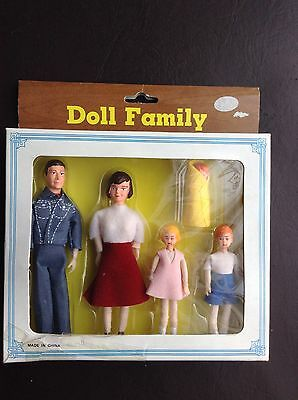 Vintage Doll Family
