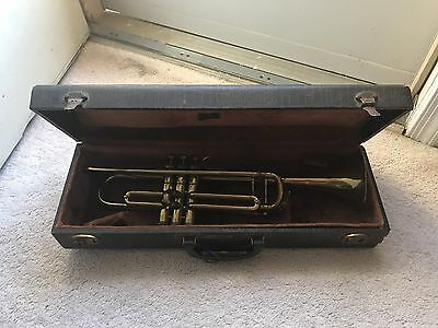 Vintage Silvertone Trumpet Made in France
