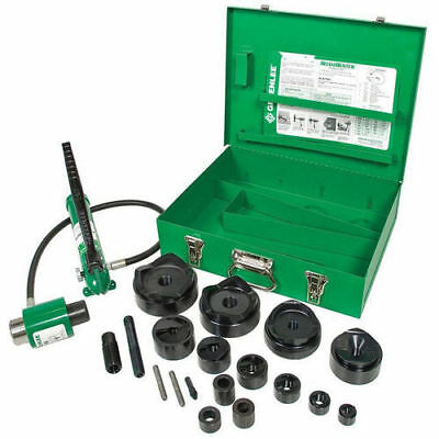 Greenlee FCE7310SB 1/2 in. x 4 in. Hydraulic Driver Punch Set Reconditioned