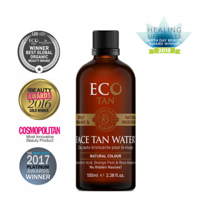 Eco Tan Anti Ageing & Anti Acne Formulation Vegan Face Tan Water 100 ml