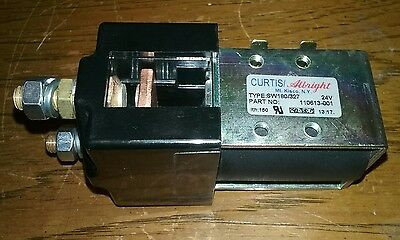 Curtis/albright Contactor 110613-001, Sw180/327, 24V, New, Free Shipping