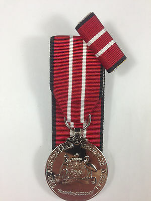 Australian Defence Medal mounted replica
