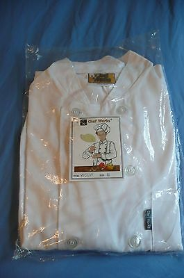 Chef Jacket by Chef Works Size Medium New In Package White