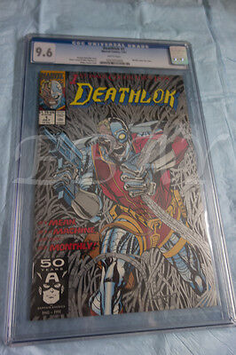 Deathlok #1 (Jul 1991, Marvel) CGC GRADED 9.6 WHITE PAGES