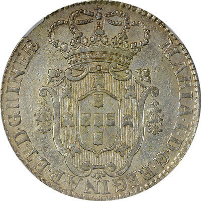 1796 Angola NGC AU Details 10M - Surface Hairlines