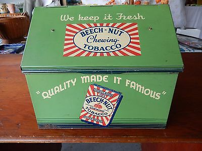 Antique/Vintage Beech-Nut Tobacco Display Case/Humidor